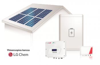 älykäs järjestelmä ja LG Chem aurinkosähkö Elektroway
